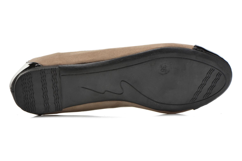 Bailarinas I Love Shoes DRELINS Beige vista de arriba