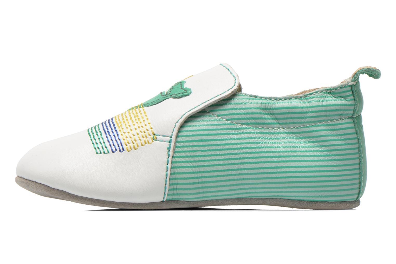 Pantofole Catimini Cassin Bianco immagine frontale