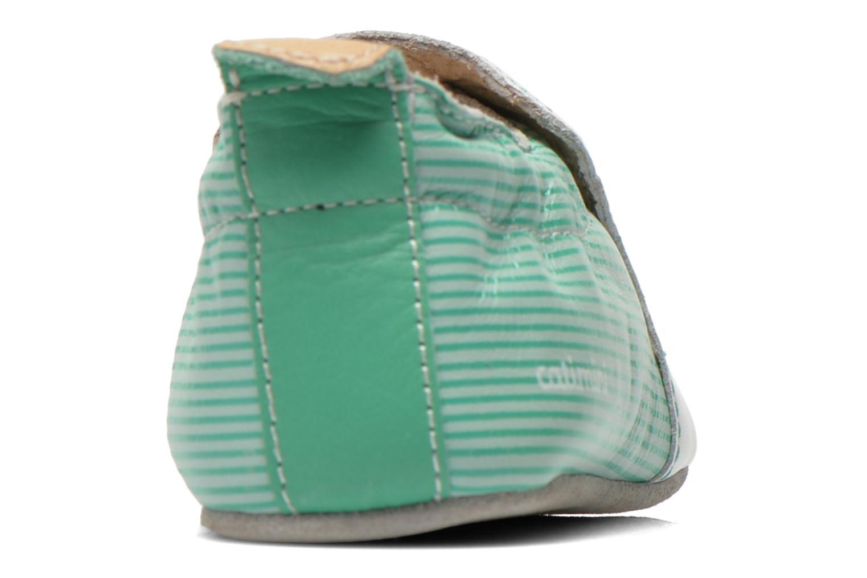 Pantofole Catimini Cassin Bianco immagine destra