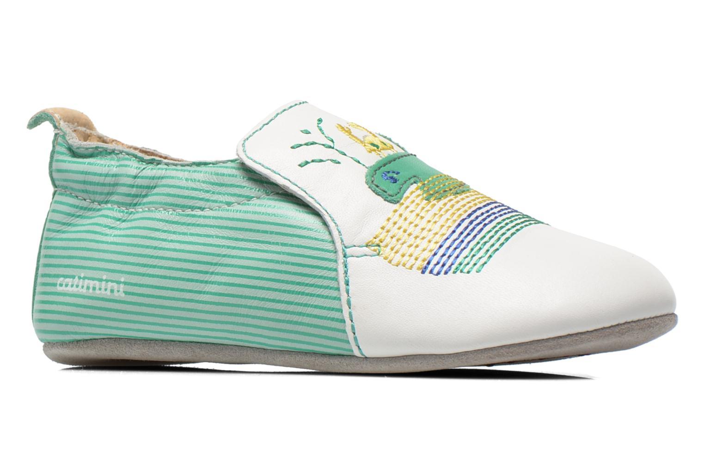 Pantofole Catimini Cassin Bianco immagine posteriore