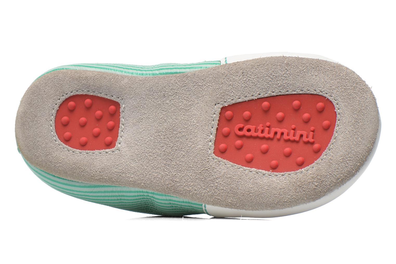 Pantofole Catimini Cassin Bianco immagine dall'alto