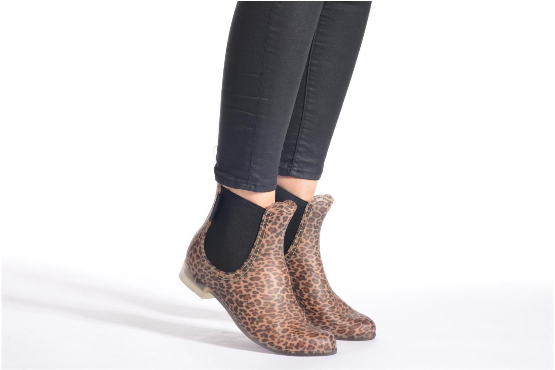 Bottines et boots Be Only Lea Mat Marron vue bas / vue portée sac