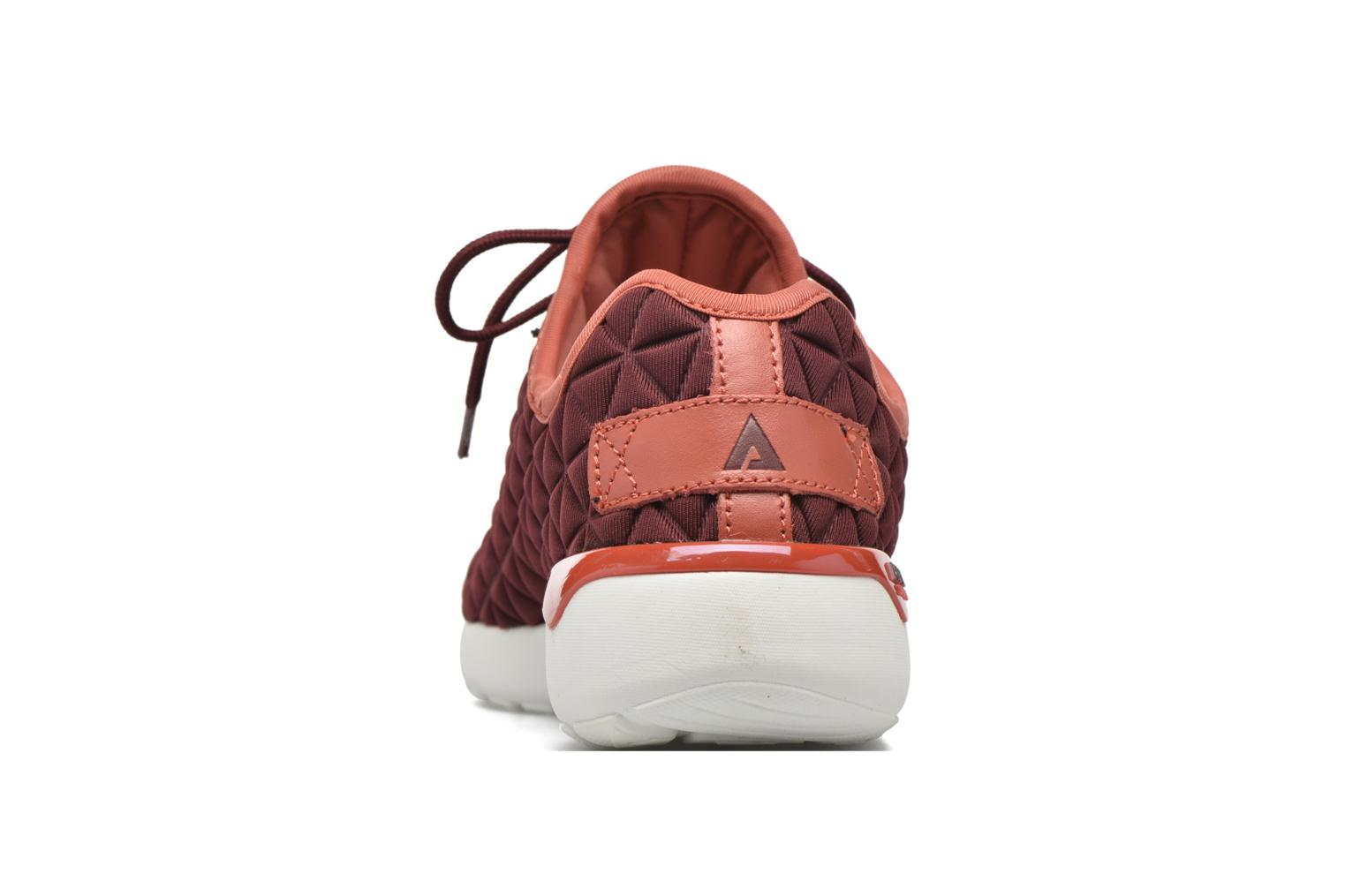 Trainers Asfvlt Speed Socks W Burgundy view from the right
