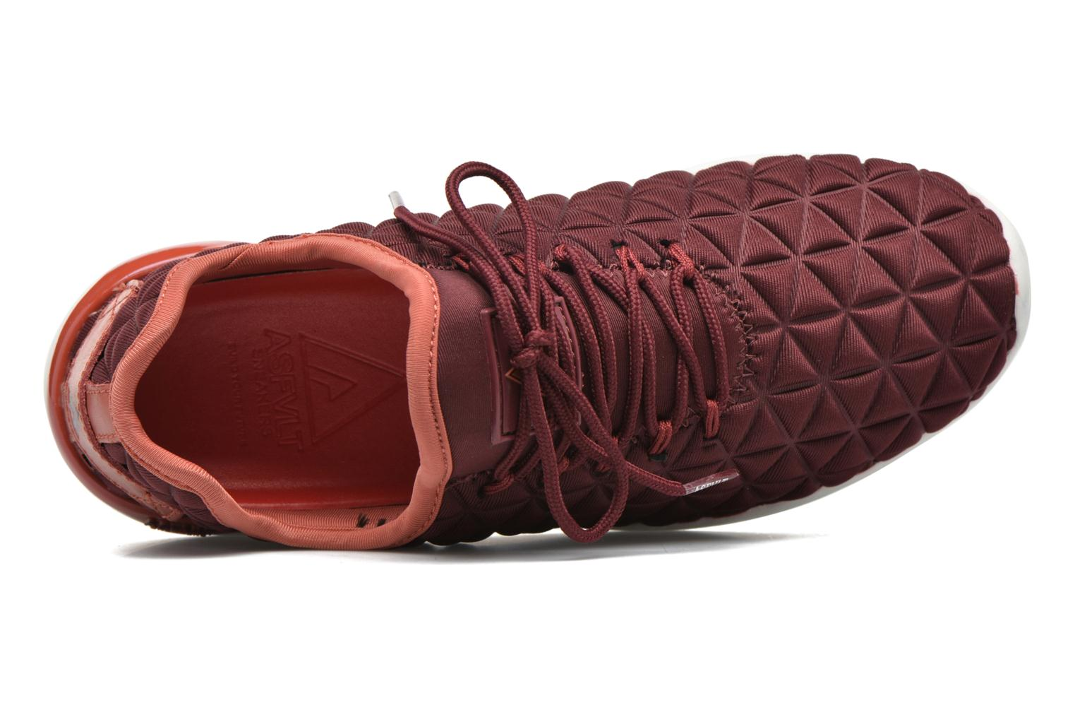 Trainers Asfvlt Speed Socks W Burgundy view from the left