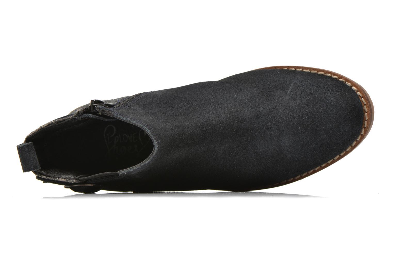 Bottines et boots I Love Shoes KELINE Leather Bleu vue gauche