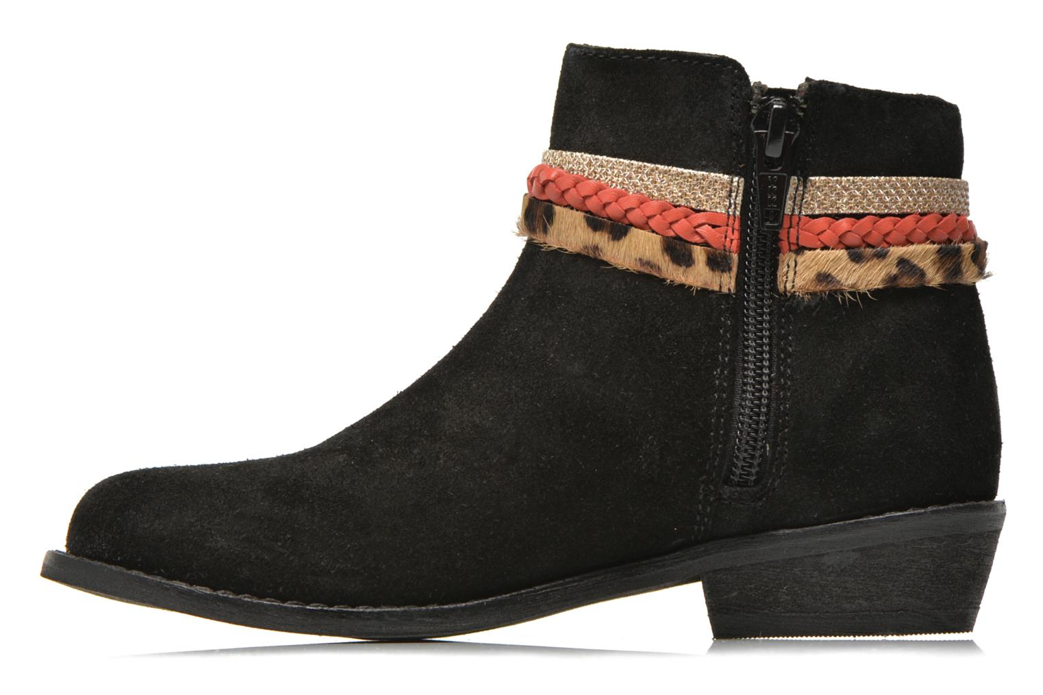Ankle boots I Love Shoes KEPHYRA Black front view
