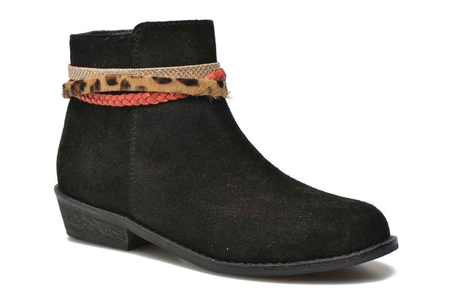 Ankle boots I Love Shoes KEPHYRA Black detailed view/ Pair view