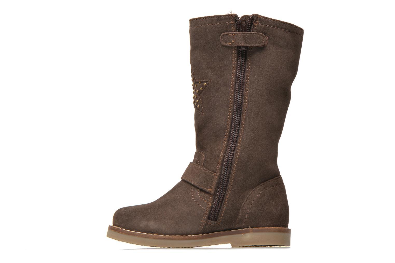 Bottes I Love Shoes KEIRINS Marron vue face
