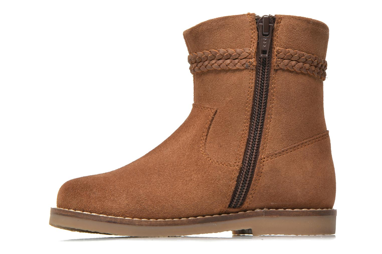 Bottines et boots I Love Shoes KERRIES Leather Marron vue face