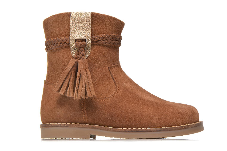 Boots en enkellaarsjes I Love Shoes KERRIES Leather Bruin achterkant