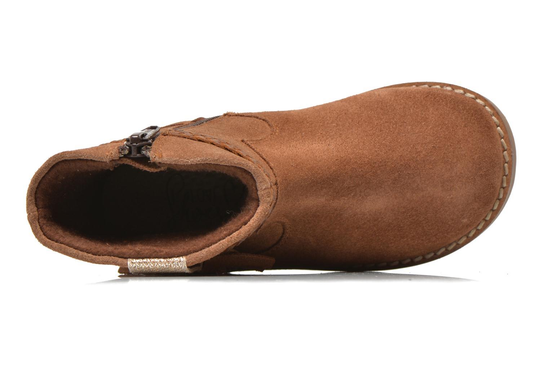 Stivaletti e tronchetti I Love Shoes KERRIES Leather Marrone immagine sinistra