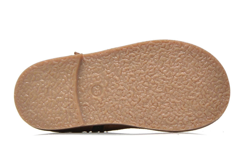 Stivaletti e tronchetti I Love Shoes KERRIES Leather Marrone immagine dall'alto