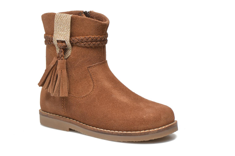 Boots en enkellaarsjes I Love Shoes KERRIES Leather Bruin detail