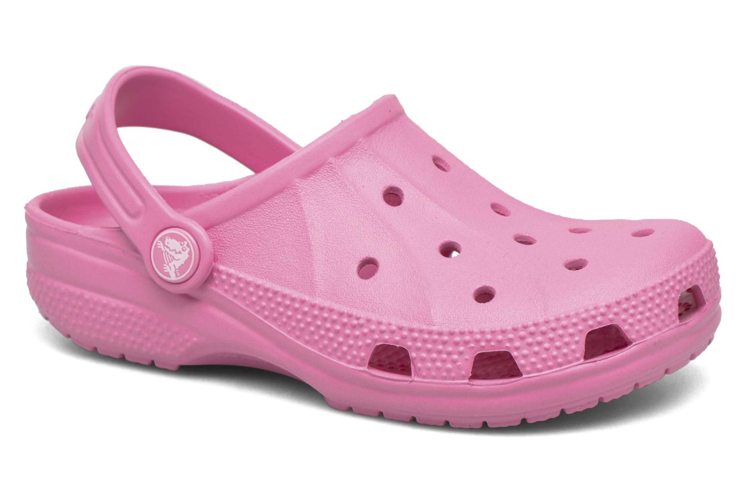 Sandals Crocs Ralen Clog K Pink detailed view/ Pair view