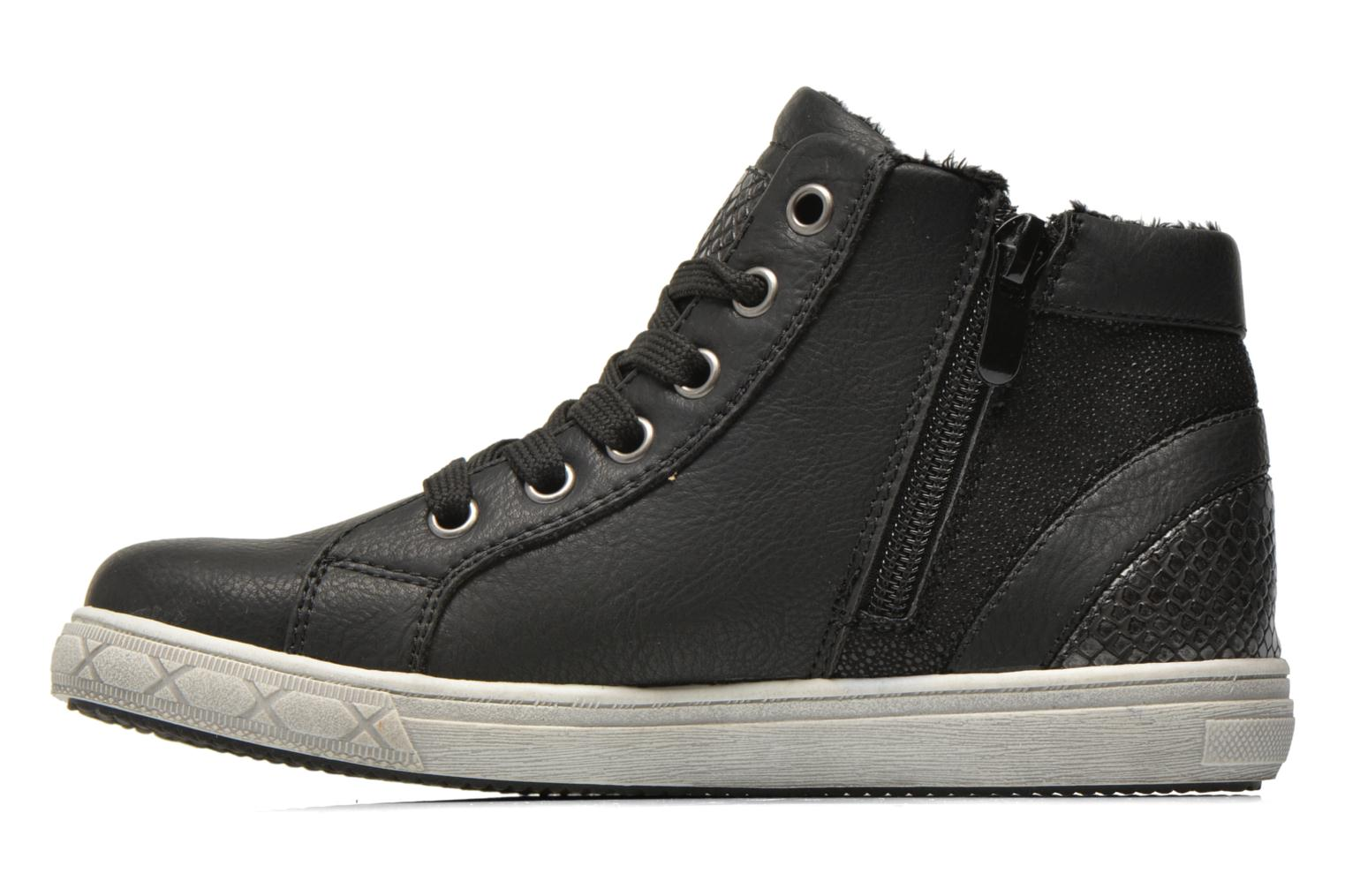 Trainers I Love Shoes SIRQUE Black front view