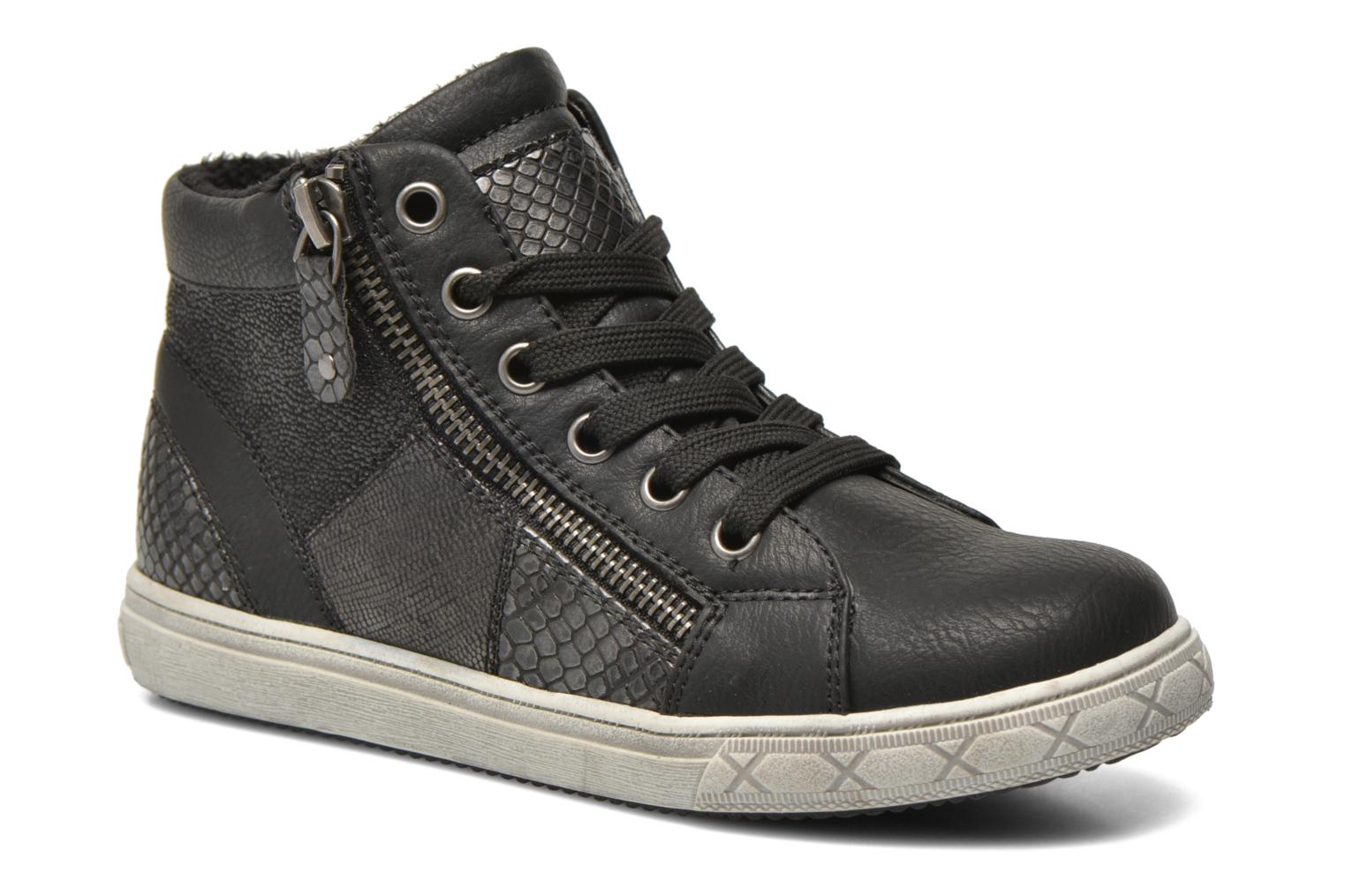 Trainers I Love Shoes SIRQUE Black detailed view/ Pair view