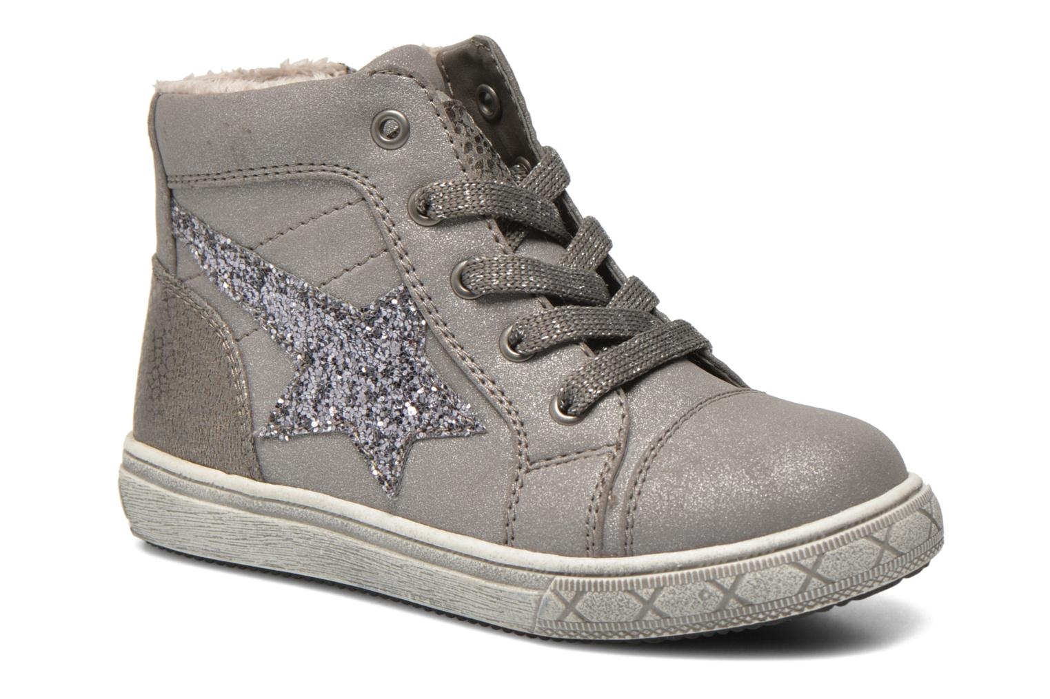 Trainers I Love Shoes SIRER Grey detailed view/ Pair view