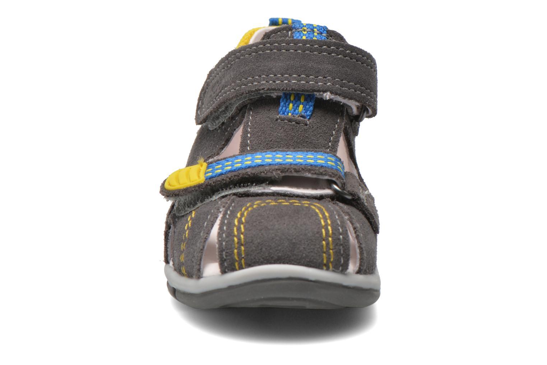 Sandales et nu-pieds Superfit Freddy Gris vue portées chaussures