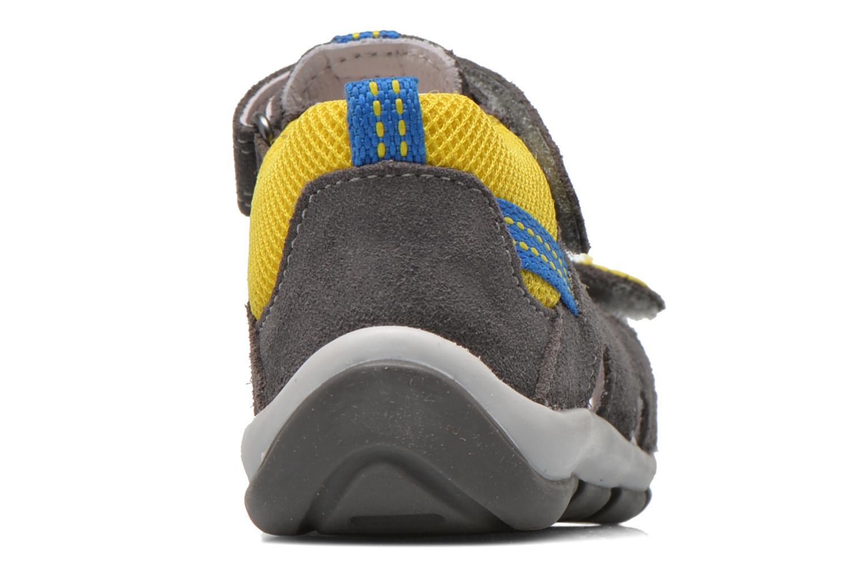 Sandales et nu-pieds Superfit Freddy Gris vue droite