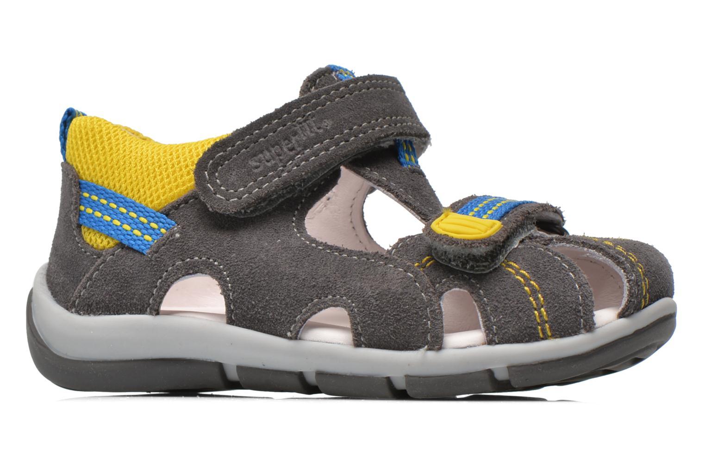 Sandales et nu-pieds Superfit Freddy Gris vue derrière