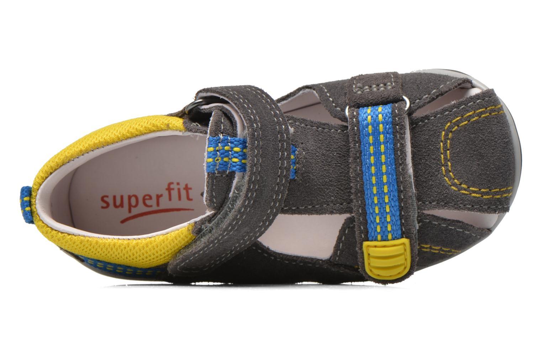 Sandales et nu-pieds Superfit Freddy Gris vue gauche