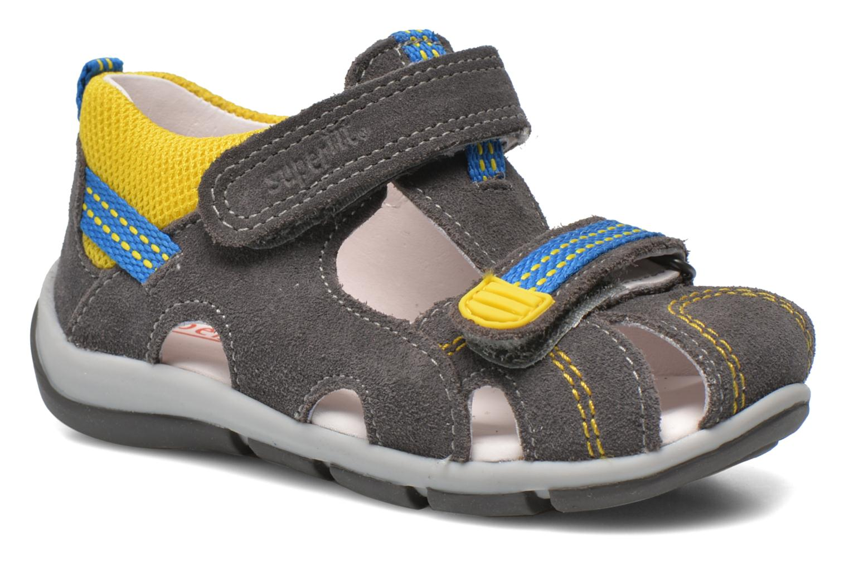 Sandales et nu-pieds Superfit Freddy Gris vue détail/paire