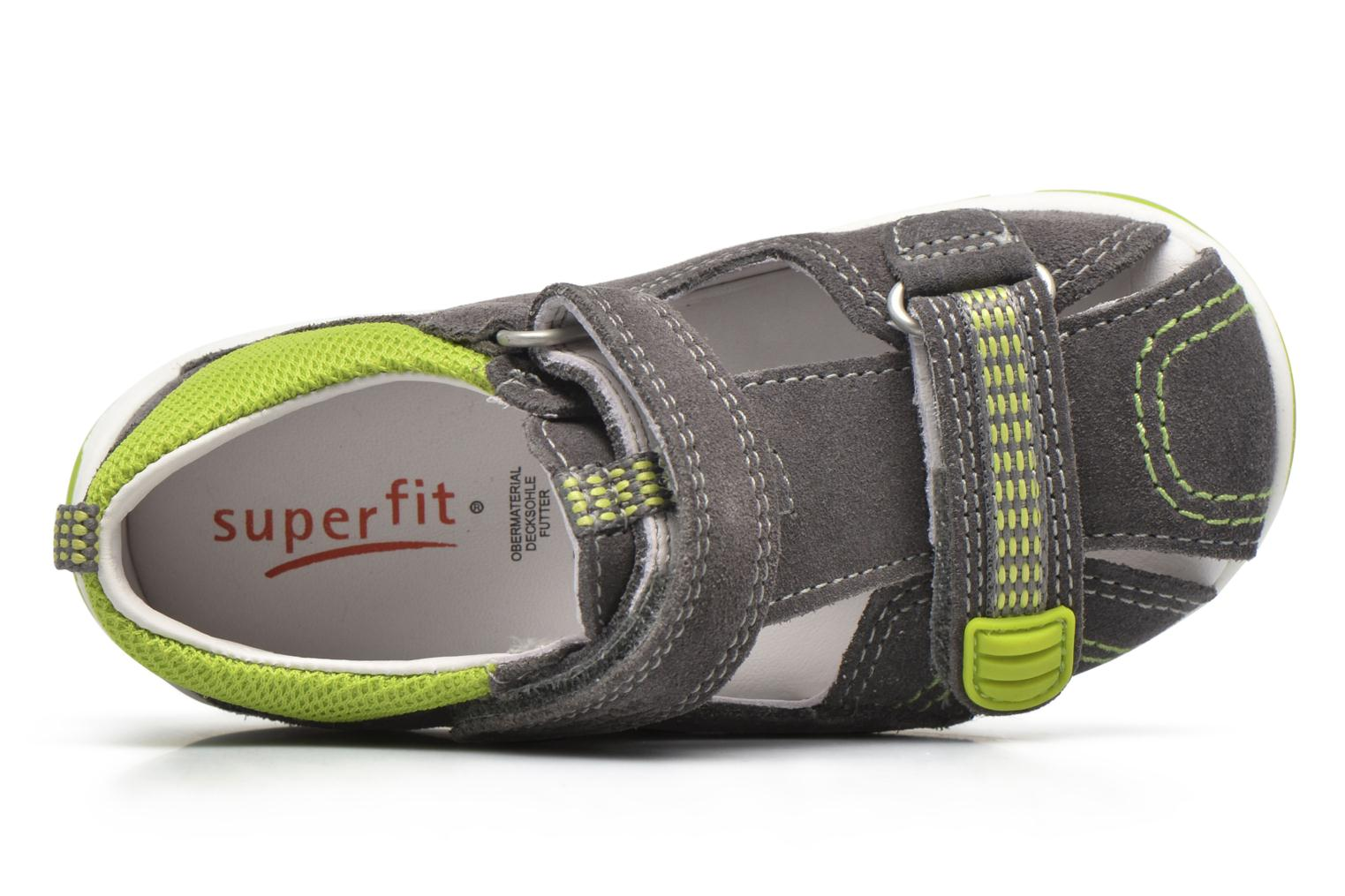 Sandals Superfit Freddy Grey view from the left