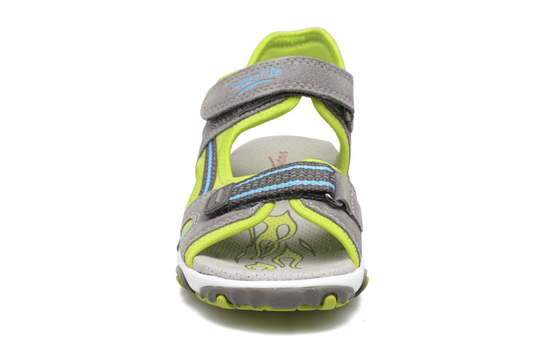 Sandalen Superfit Mike 2 grün schuhe getragen