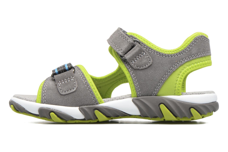 Sandalen Superfit Mike 2 grün ansicht von vorne