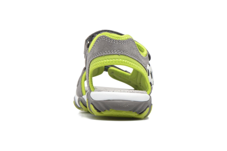 Sandalen Superfit Mike 2 grün ansicht von rechts