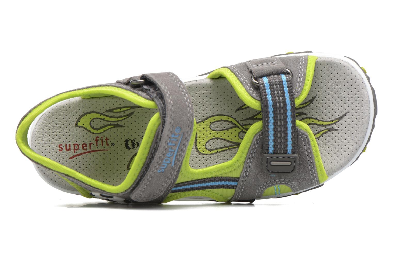 Sandalen Superfit Mike 2 grün ansicht von hinten