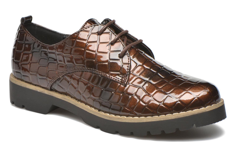 Schnürschuhe I Love Shoes Thada braun detaillierte ansicht/modell