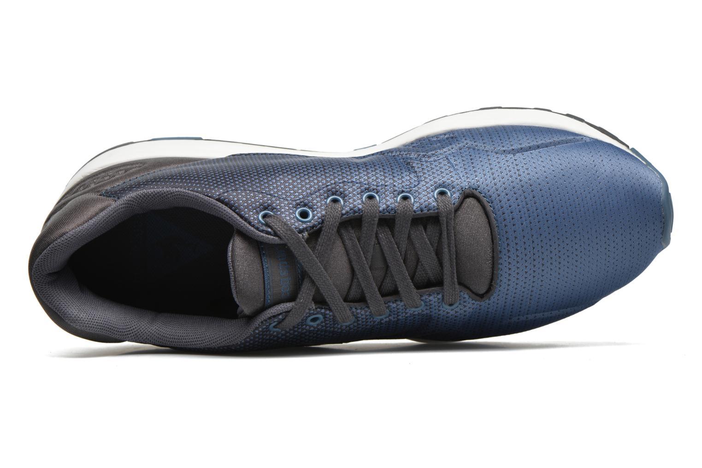 Baskets Le Coq Sportif Lcs R900 Gradient Jacquard Bleu vue gauche