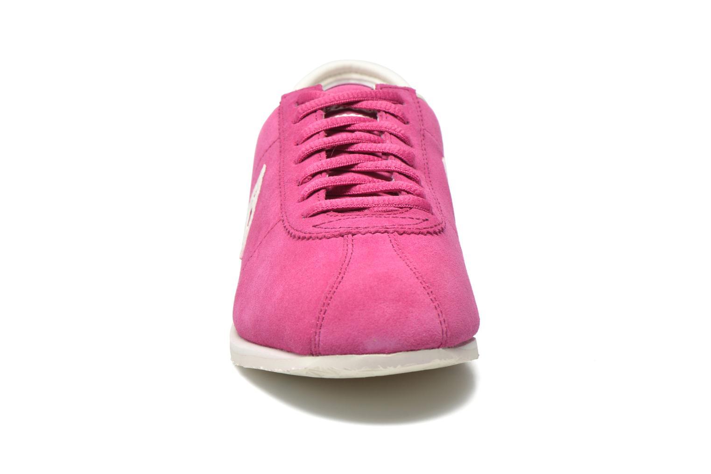 Baskets Le Coq Sportif Wendon W Suede Rose vue portées chaussures