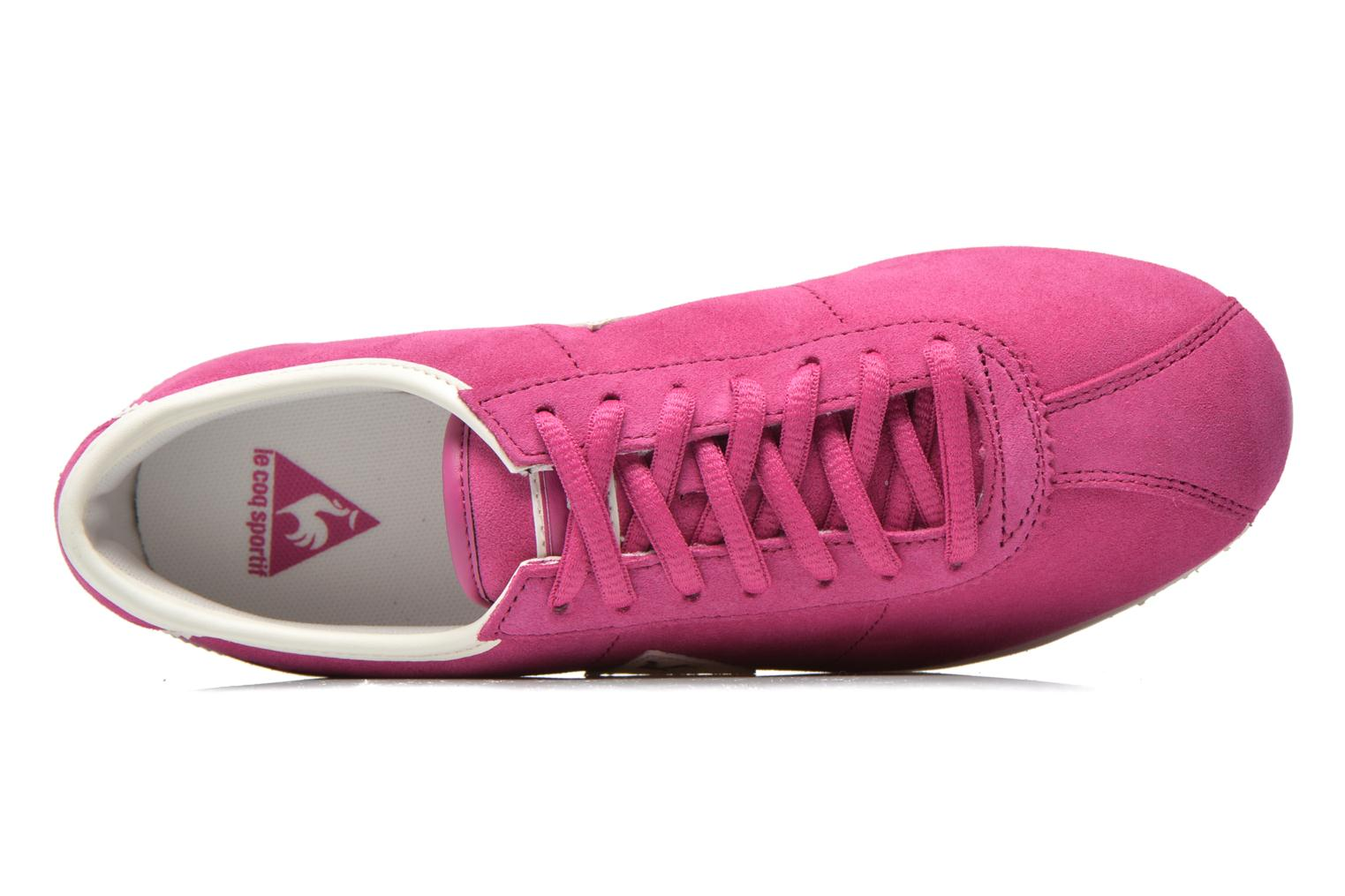 Trainers Le Coq Sportif Wendon W Suede Pink view from the left