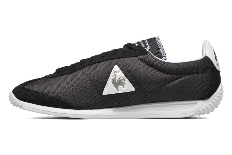 Sneakers Le Coq Sportif Quartz Nylon Nero immagine frontale