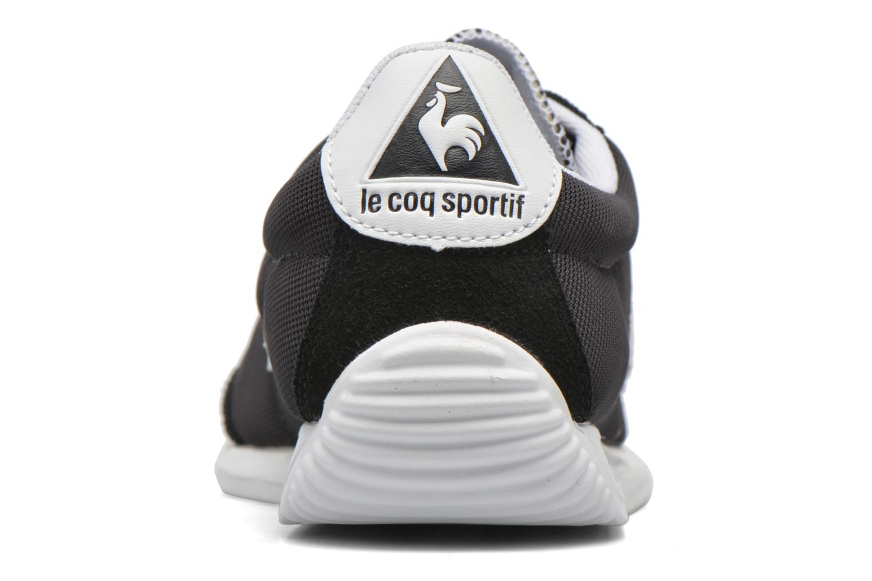 Sneakers Le Coq Sportif Quartz Nylon Nero immagine destra