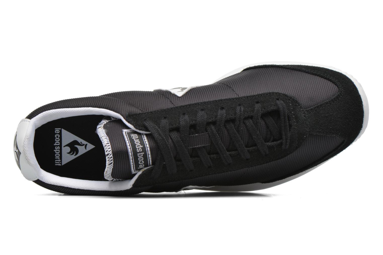 Sneakers Le Coq Sportif Quartz Nylon Nero immagine sinistra