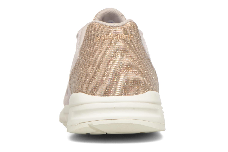 Sneaker Le Coq Sportif Lcs R900 W Glitter beige ansicht von rechts