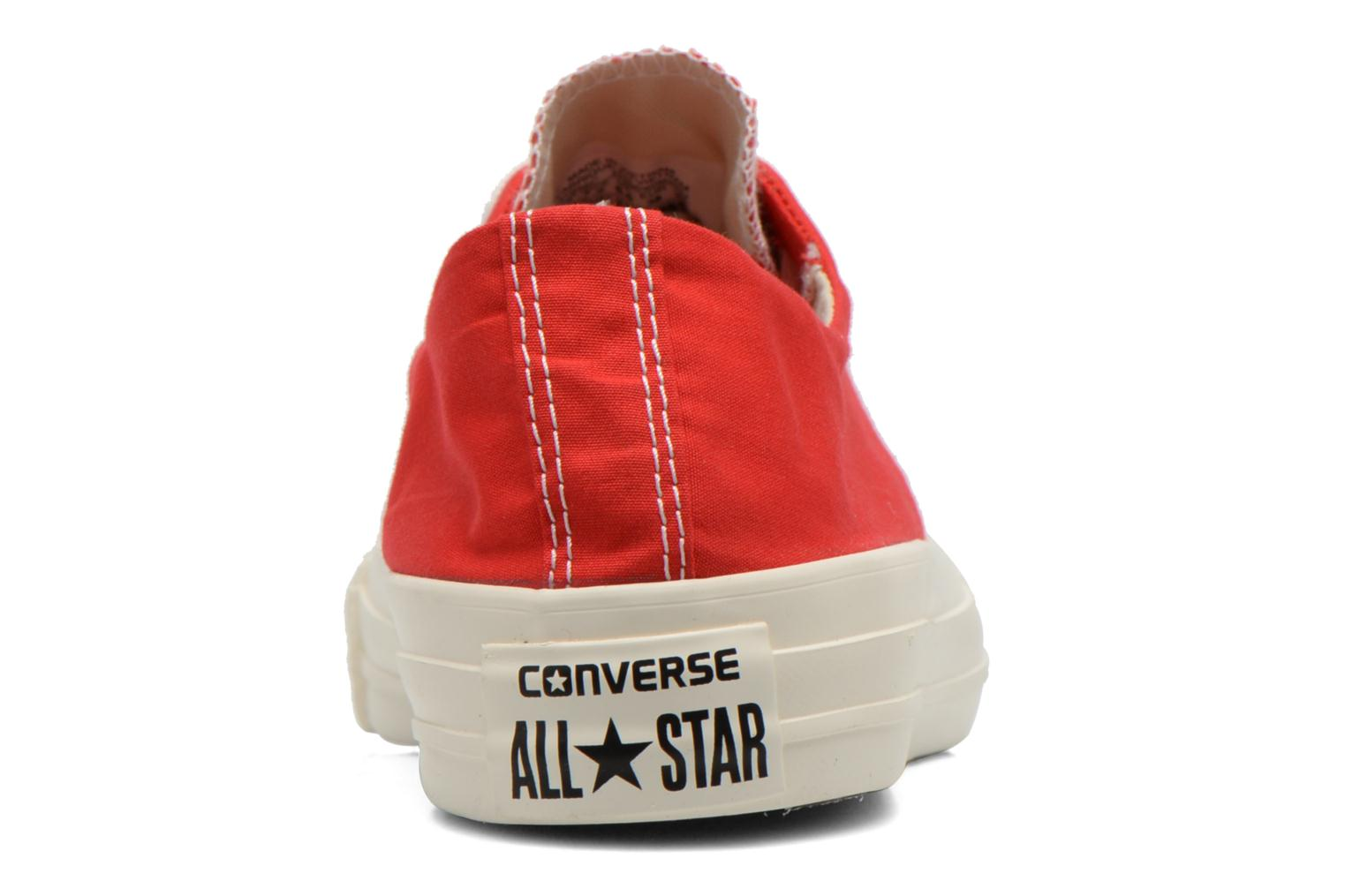 Baskets Converse Chuck Taylor All Star Sawyer Ox K Rouge vue droite