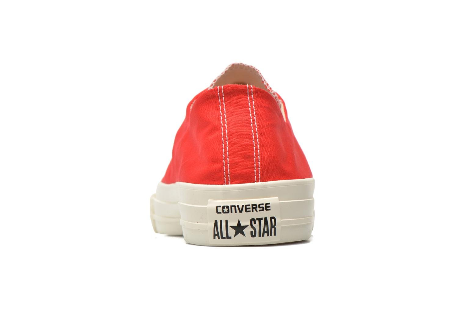Baskets Converse Chuck Taylor All Star Sawyer Ox M Rouge vue droite