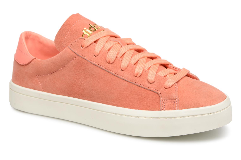 Grandes descuentos últimos zapatos Adidas Originals Court Vantage W (Naranja) - Deportivas Descuento