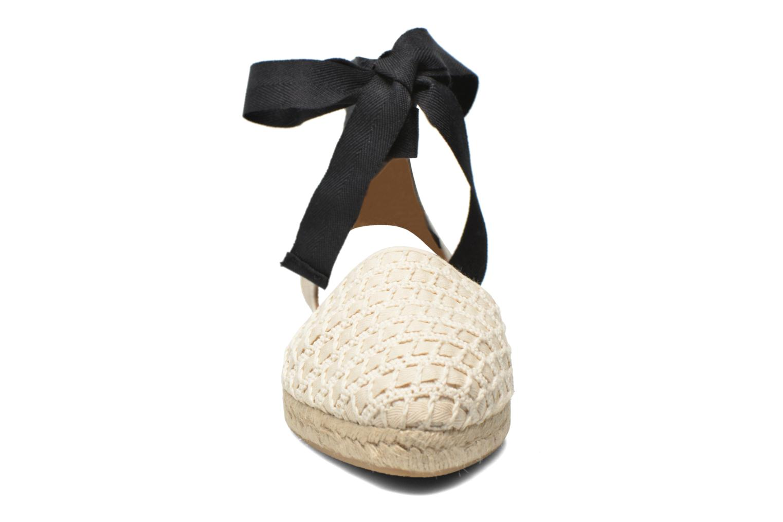 Sandalen Georgia Rose Dalore beige schuhe getragen