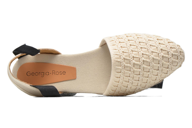 Sandali e scarpe aperte Georgia Rose Dalore Beige immagine sinistra