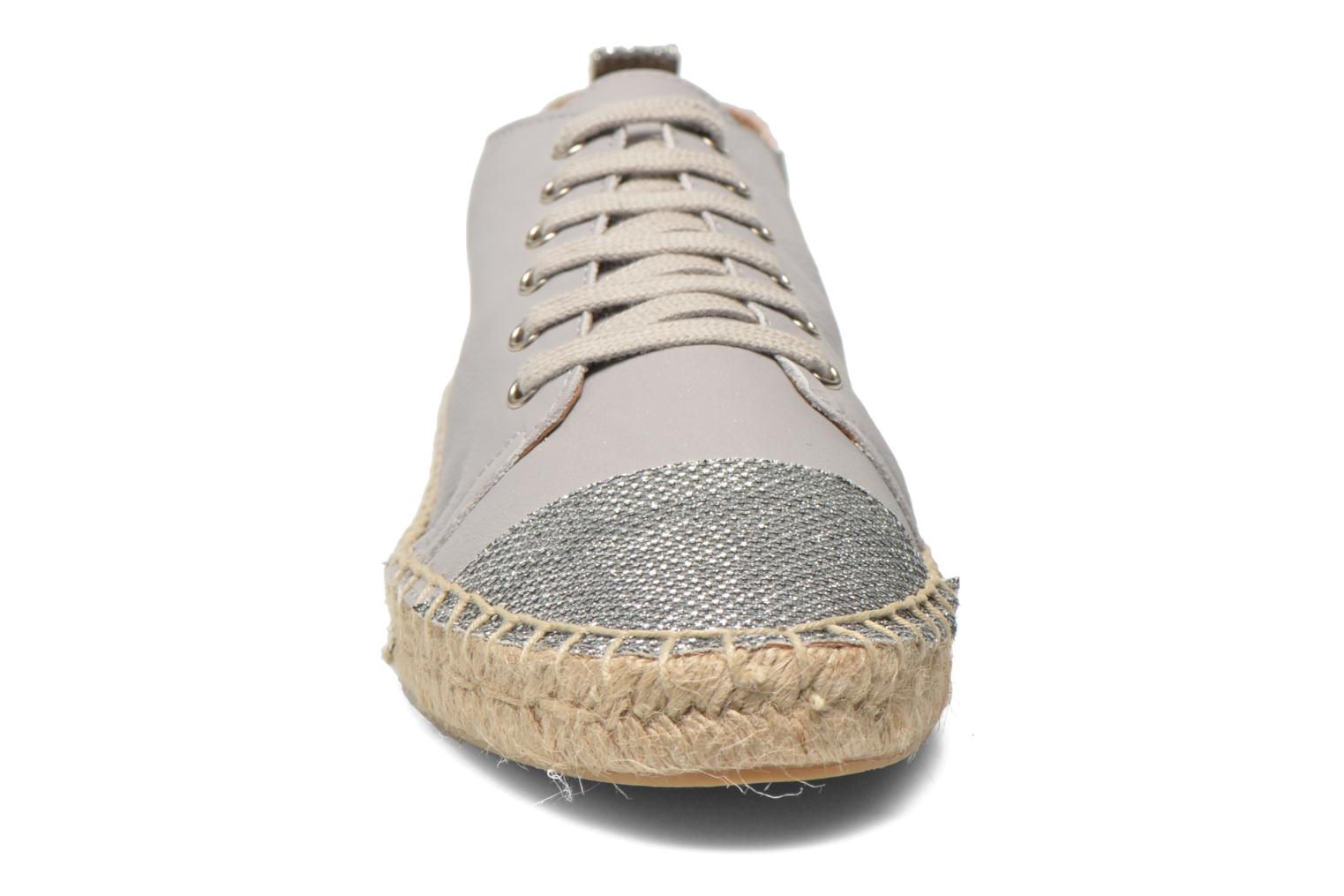 Espadrilles Georgia Rose Dakitte Silver model view