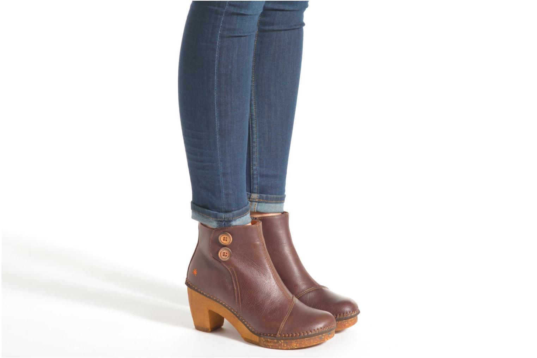 Stiefeletten & Boots Art Amsterdam 362 braun ansicht von unten / tasche getragen