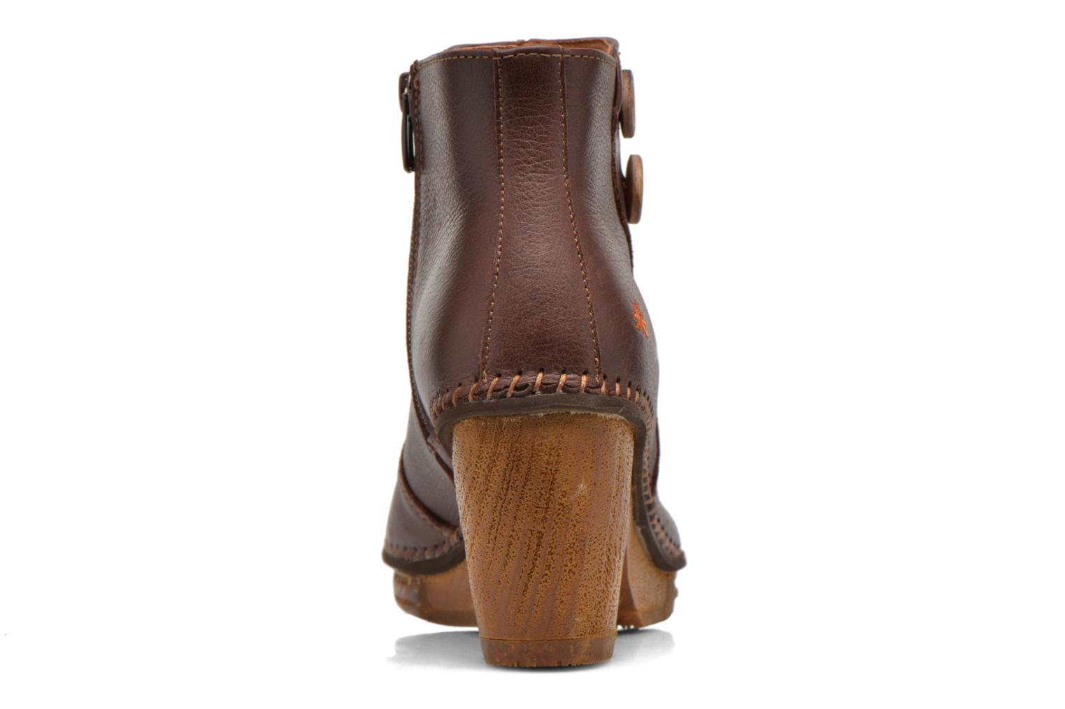 Ankle boots Art Amsterdam 362 Brown view from the right