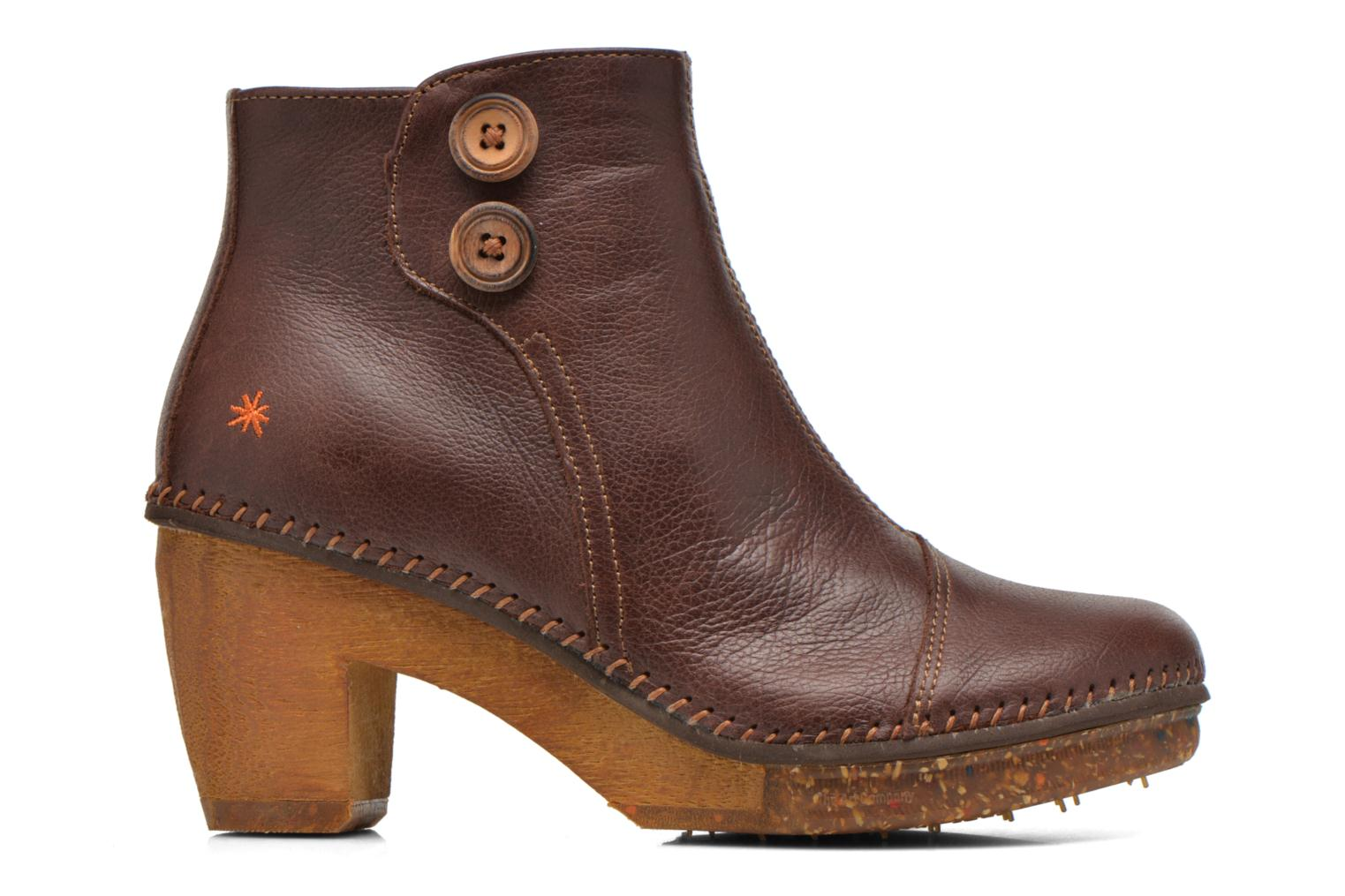 Ankle boots Art Amsterdam 362 Brown back view