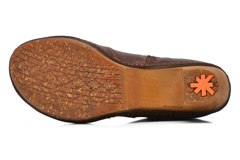 Stiefeletten & Boots Art Amsterdam 362 braun ansicht von oben
