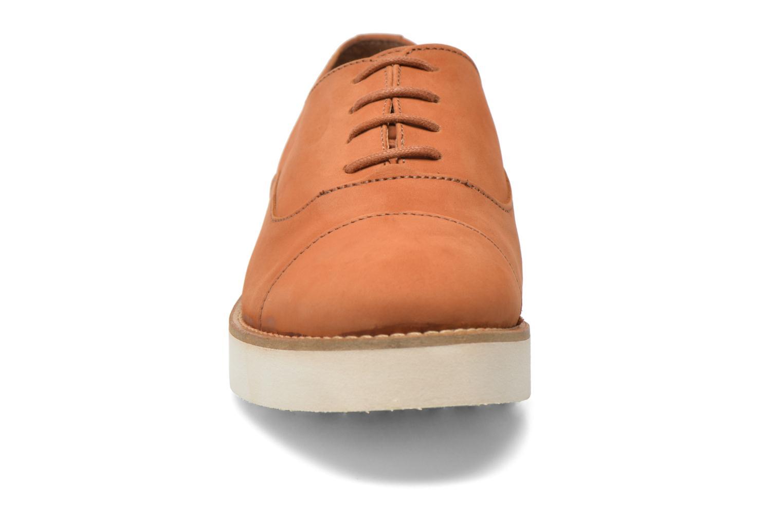 Chaussures à lacets Aldo Ocayria Marron vue portées chaussures